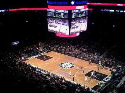 Barclays Center sección 205