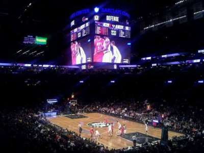 Barclays Center sección 104