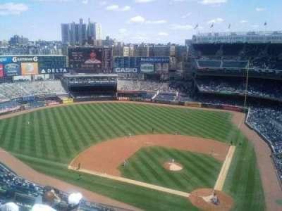 Yankee Stadium sección 422
