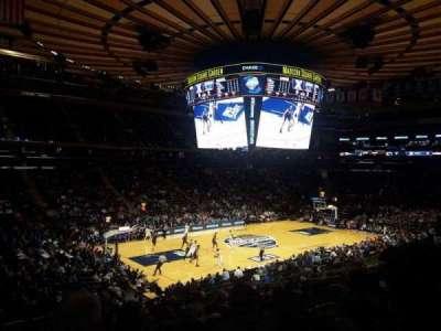 Madison Square Garden, sección: 115, fila: 20, asiento: 1