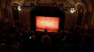 Cadillac Palace Theater, sección: BALCRC, fila: S, asiento: 328