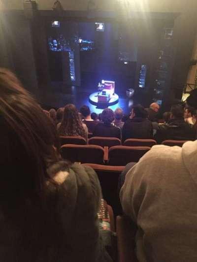 Music Box Theatre, sección: Mezzanine, fila: K, asiento: 10