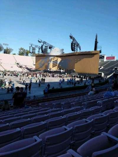 Rose Bowl, sección: 17-L, fila: 12, asiento: 7