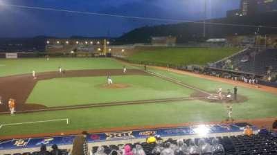 Monongalia County Ballpark, sección: 102, fila: 2, asiento: 1