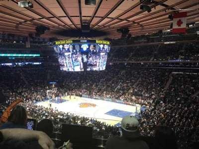 Madison Square Garden, sección: 227, fila: 3, asiento: 8