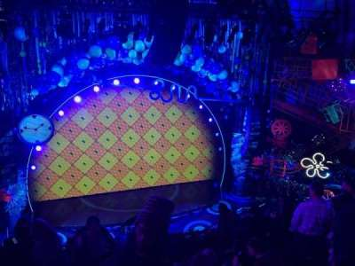 Palace Theatre (Broadway), sección: Mezz, fila: K, asiento: 117