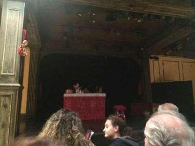 Teatro La Comedia, sección: Main, fila: 3, asiento: 5