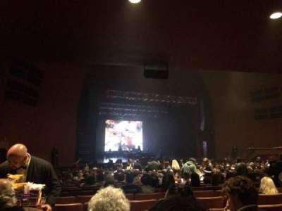 Teatro Gran Rex, sección: Platea, fila: 26, asiento: I25