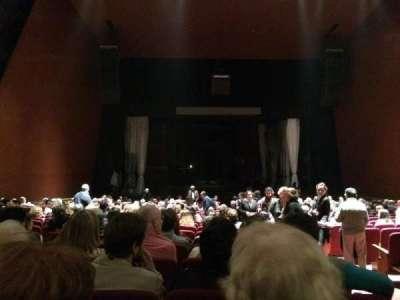 Teatro Coliseo, sección: Platea, fila: 20, asiento: 3