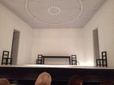 Teatro Regina, sección: Main, fila: 3, asiento: 4
