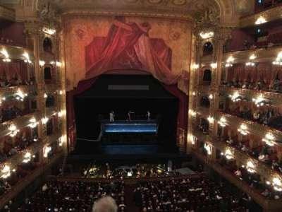 Teatro Colón, sección: Cazuela Centro, fila: 3, asiento: 71