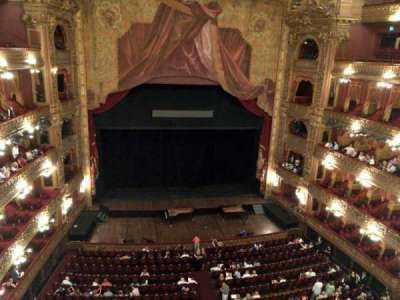 Teatro Colón, sección: Tertulia Centro, fila: 1, asiento: 101