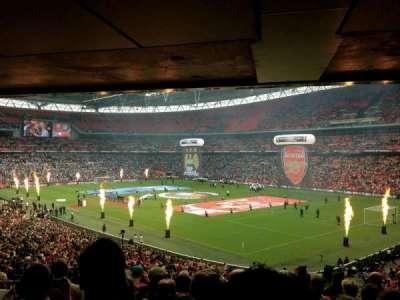 Wembley Stadium, sección: 139, fila: 43, asiento: 148