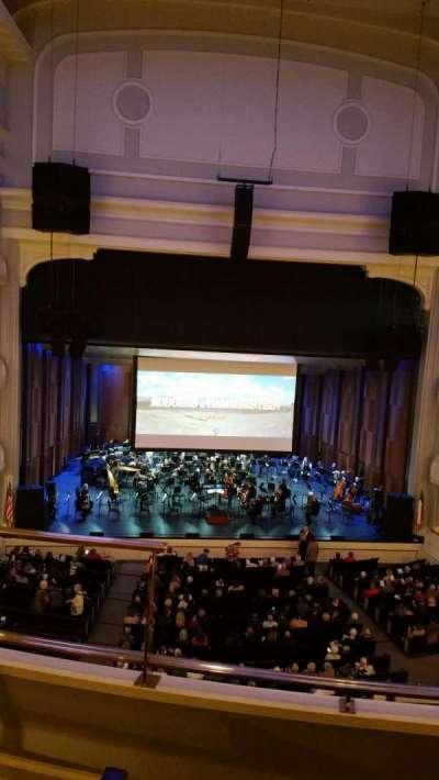 Bass Performance Hall, sección: Mezzanine Center, fila: C (3rd row), asiento: 2