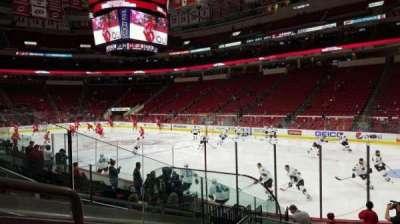 PNC Arena, sección: 130, fila: L, asiento: 9
