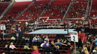 PNC Arena, sección: 118, fila: H, asiento: 8