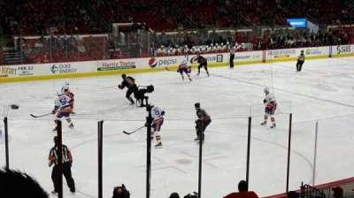 PNC Arena, sección: 123, fila: r, asiento: 8
