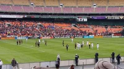 RFK Stadium, sección: 212, fila: 14, asiento: 7