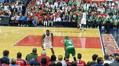 Capital One Arena, sección: 112, fila: k, asiento: 16