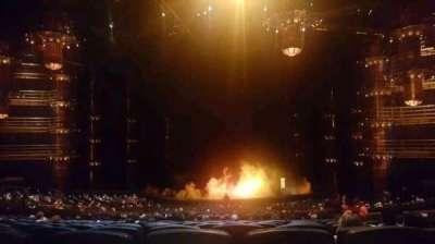 KÀ Theatre - MGM Grand, sección: 220, fila: mm, asiento: 28