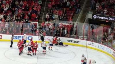 PNC Arena, sección: 101, fila: XX, asiento: 7