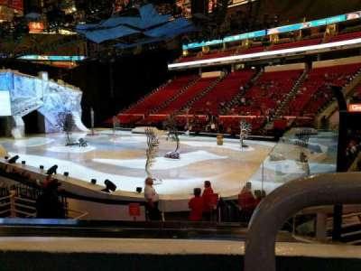 PNC Arena, sección: 130, fila: k, asiento: 1