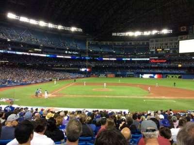 Rogers Centre, sección: 117L, fila: 29, asiento: 109