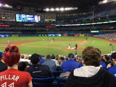 Rogers Centre, sección: 123L, fila: 23, asiento: 108