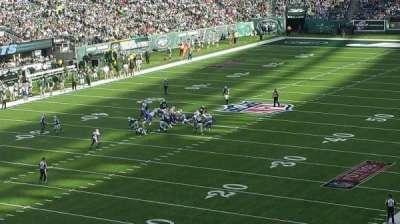MetLife Stadium, sección: 246A, fila: 1, asiento: 18