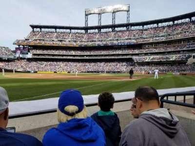 Citi Field, sección: 128, fila: 2, asiento: 14
