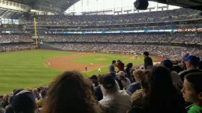 Miller Park, sección: 229, fila: 18, asiento: 11