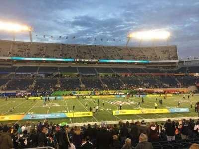 Camping World Stadium, sección: 135, fila: U, asiento: 26