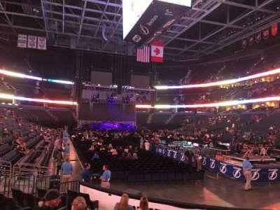 Amalie Arena, sección: 110, fila: J, asiento: 11