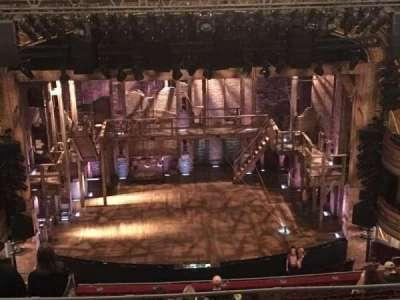 Richard Rodgers Theatre, sección: MEZZR, fila: F, asiento: 109 and 11
