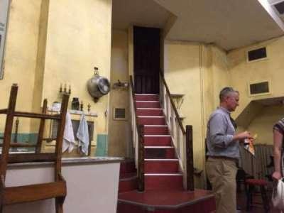 Barrow Street Theatre, sección: Table, fila: B, asiento: 11 And 12