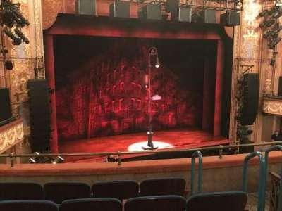 Longacre Theatre, sección: MEZZL, fila: E, asiento: 10