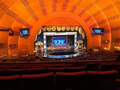 Radio City Music Hall, sección: 2NDMEZZL, fila: F, asiento: 307 And 308