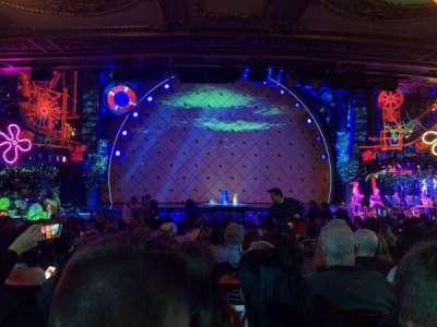 Palace Theatre (Broadway), sección: ORCH, fila: T, asiento: 111