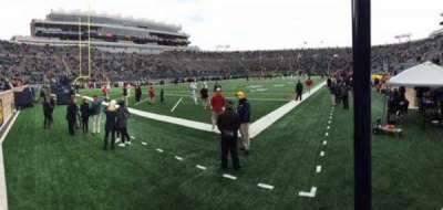 Notre Dame Stadium, sección: 16, fila: 3