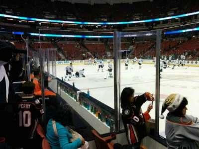 Honda Center, sección: 207, fila: C, asiento: 102