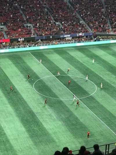 Mercedes-Benz Stadium, sección: 334, fila: 13, asiento: 24