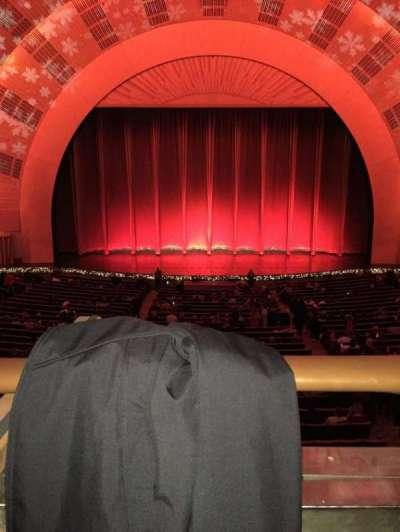 Radio City Music Hall, sección: 1st Mezzanine 4, fila: A, asiento: 408