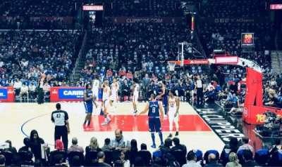 Staples Center, sección: 110, fila: 13, asiento: 12