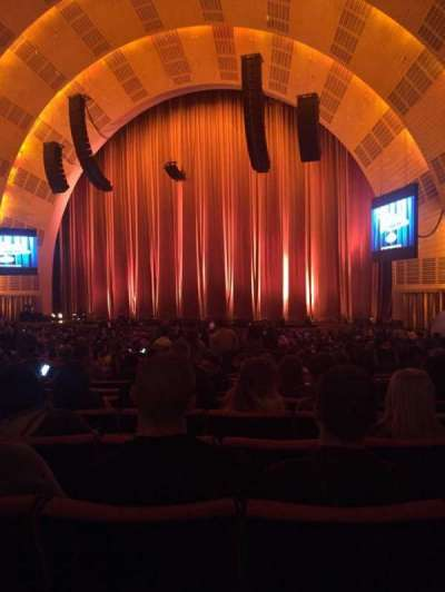 Radio City Music Hall, sección: Orchestra 2, fila: N, asiento: 203