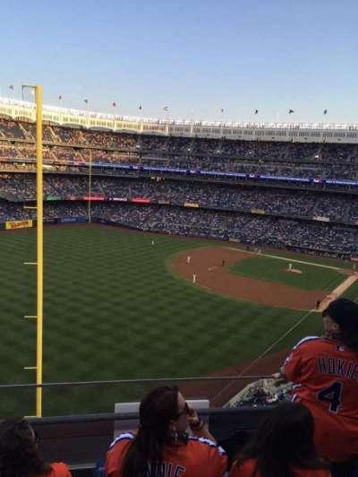 Yankee Stadium sección 332a