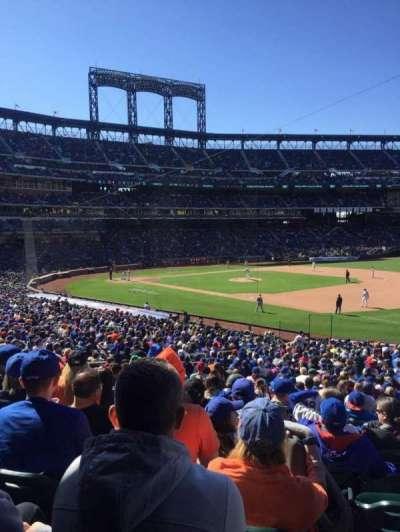 Citi Field, sección: 110, fila: 29, asiento: 18
