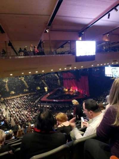 Madison Square Garden, sección: 210, fila: 10, asiento: 5