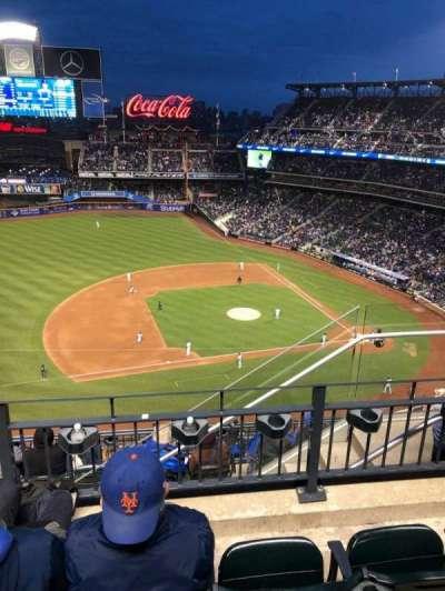 Citi Field, sección: 522, fila: 4, asiento: 6