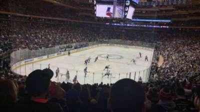 Madison Square Garden, sección: 315, fila: 22, asiento: 12