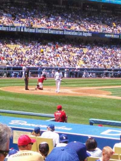 Dodger Stadium, sección: 20FD, fila: L, asiento: 4